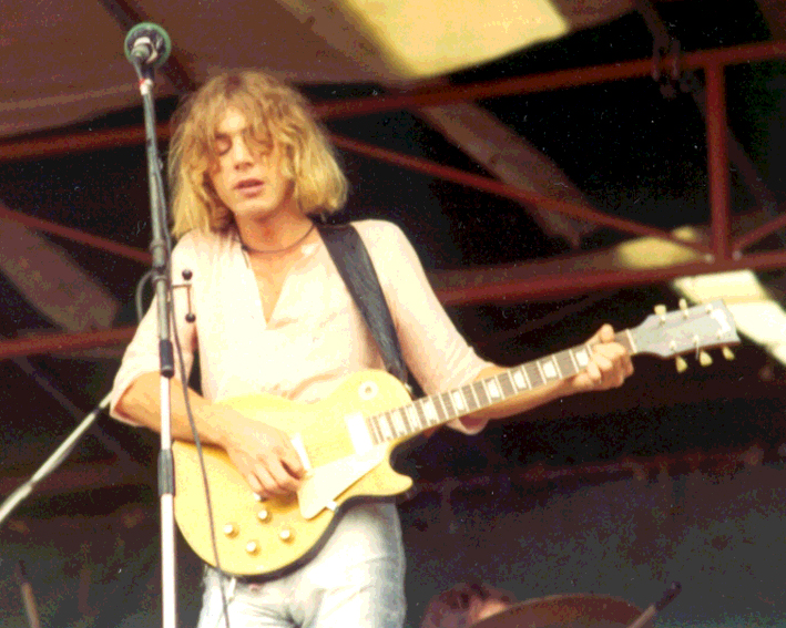 Kevin Ayers, Hyde Park free concert, 29th June 1974
