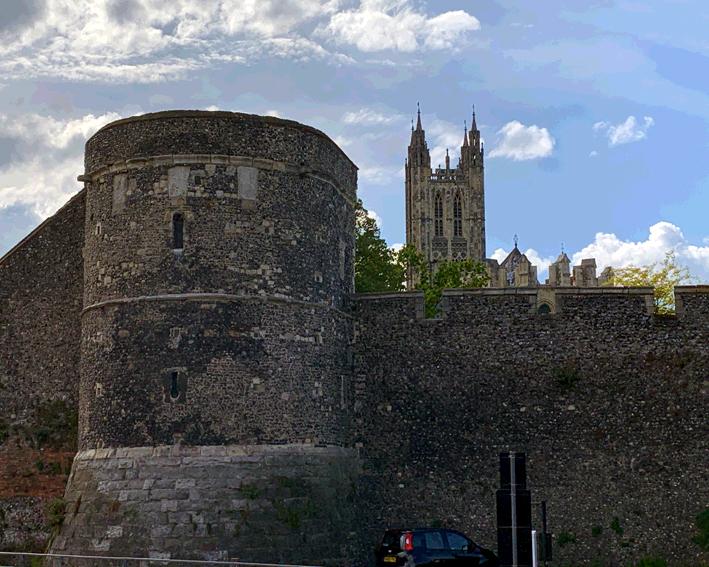 Canterbury Walls
